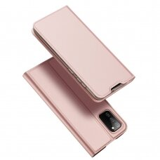 DUX DUCIS Skin Pro Bookcase type case for Samsung Galaxy A02s EU pink