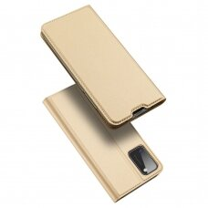 DUX DUCIS Skin Pro Bookcase type case for Samsung Galaxy A41 golden