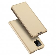 DUX DUCIS Skin Pro Bookcase type case for Samsung Galaxy A42 5G golden