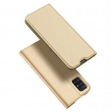 DUX DUCIS Skin Pro Bookcase type case for Samsung Galaxy A51 golden (lop20) (SAMA51)