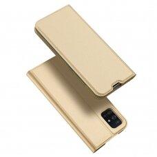 DUX DUCIS Skin Pro Bookcase type case for Samsung Galaxy A71 golden (qoe97) (SGA71)
