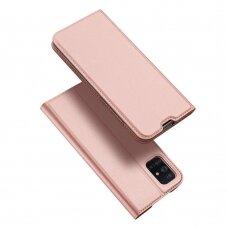 DUX DUCIS Skin Pro Bookcase type case for Samsung Galaxy A71 pink (qoe97) (SGA71)