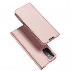 DUX DUCIS Skin Pro Bookcase type case for Samsung Galaxy A72 4G pink
