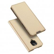 DUX DUCIS Skin Pro Bookcase type case for Xiaomi Redmi Note 9 Pro / Redmi Note 9S golden