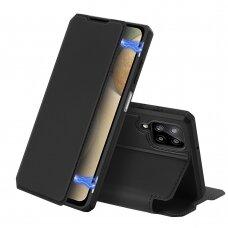 DUX DUCIS Skin X Bookcase type case for Samsung Galaxy A12 / Galaxy M12 black