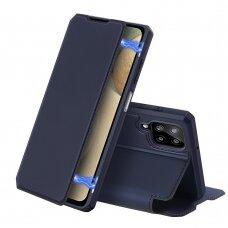 DUX DUCIS Skin X Bookcase type case for Samsung Galaxy A12 / Galaxy M12 blue