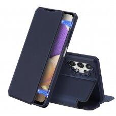 DUX DUCIS Skin X Bookcase type case for Samsung Galaxy A32 5G blue