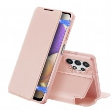 DUX DUCIS Skin X Bookcase type case for Samsung Galaxy A32 5G pink