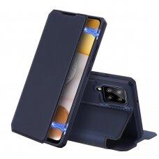 DUX DUCIS Skin X Bookcase type case for Samsung Galaxy A42 5G blue