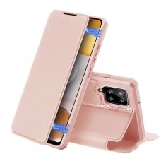 DUX DUCIS Skin X Bookcase type case for Samsung Galaxy A42 5G pink