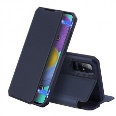 DUX DUCIS Skin X Bookcase type case for Samsung Galaxy A51 blue (SAMA51)