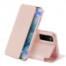DUX DUCIS Skin X Bookcase type case for Samsung Galaxy S20 pink