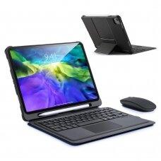 Dux Ducis Touchpad Keyboard Case wireless Bluetooth keyboard iPad Air 2020 black