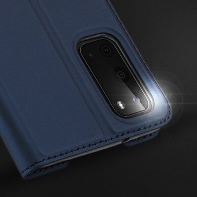 DUX DUCIS Skin Pro Bookcase type case for Samsung Galaxy S20 blue (gng56) (SSGS20) 17