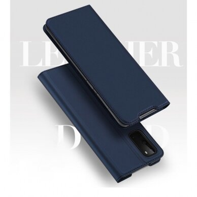 DUX DUCIS Skin Pro Bookcase type case for Samsung Galaxy S20 blue (gng56) (SSGS20) 7