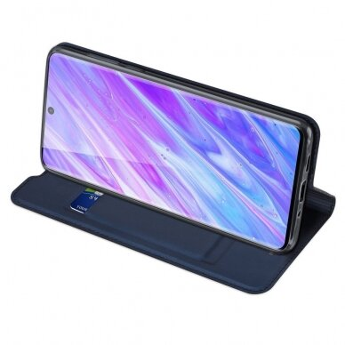 DUX DUCIS Skin Pro Bookcase type case for Samsung Galaxy S20 blue (gng56) (SSGS20) 4