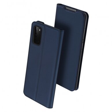 DUX DUCIS Skin Pro Bookcase type case for Samsung Galaxy S20 blue (gng56) (SSGS20) 2