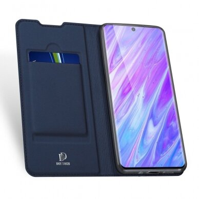 DUX DUCIS Skin Pro Bookcase type case for Samsung Galaxy S20 blue (gng56) (SSGS20) 3