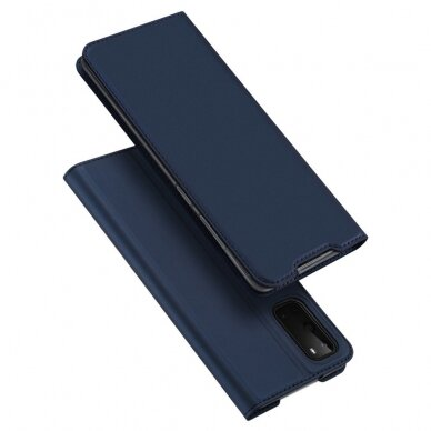 DUX DUCIS Skin Pro Bookcase type case for Samsung Galaxy S20 blue (gng56) (SSGS20)