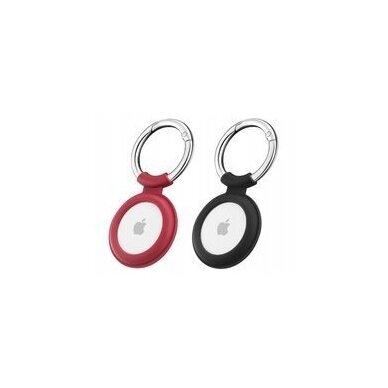 ESR CLOUD APPLE AIRTAG RED & BLACK