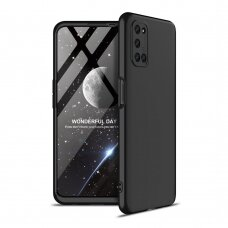 GKK 360 Protection Case Front and Back Case Full Body Cover Oppo A92 / A72 / A52 black