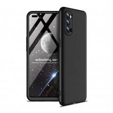 GKK 360 Protection Case Front and Back Case Full Body Cover Oppo Reno 4 black