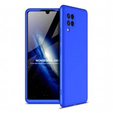 GKK 360 Protection Case Front and Back Case Full Body Cover Samsung Galaxy A42 5G blue