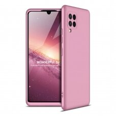 GKK 360 Protection Case Front and Back Case Full Body Cover Samsung Galaxy A42 5G pink