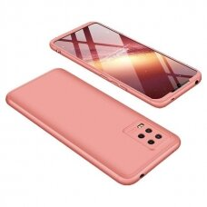 GKK 360 Protection Case Front and Back Case Full Body Cover Xiaomi Mi 10 Lite pink