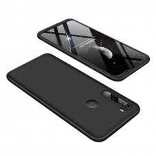 GKK 360 Protection Case Front and Back Case Full Body Cover Xiaomi Redmi Note 8T black (erw45) (XRN8T)