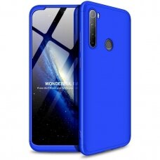 GKK 360 Protection Case Front and Back Case Full Body Cover Xiaomi Redmi Note 8T blue (erw45) (XRN8T)