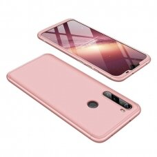 GKK 360 Protection Case Front and Back Case Full Body Cover Xiaomi Redmi Note 8T pink (erw45) (XRN8T)