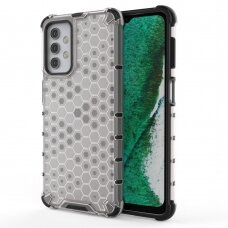 Honeycomb Case armor cover with TPU Bumper for Samsung Galaxy A32 5G transparent