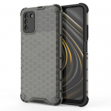 Honeycomb Case armor cover with TPU Bumper for Xiaomi Poco M3 / Xiaomi Redmi 9T black