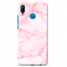 "Huawei P Smart 2019 silicone phone case with unique design 1.0 mm ""u-case Airskin Marble 5 design"""