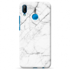 "Huawei P Smart 2019 silicone phone case with unique design 1.0 mm ""u-case Airskin Marble 6 design"""