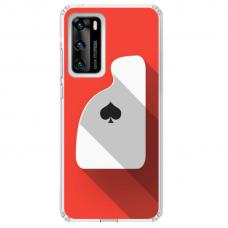 """Huawei P Smart 2021 Unique Silicone Case 1.0 mm """"u-case Airskin Ace design"""""""