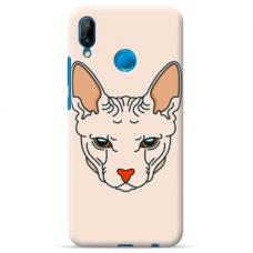 "Huawei P20 Lite silicone phone case with unique design 1.0 mm ""u-case Airskin Kato design"""