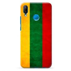 "Huawei P20 Lite silicone phone case with unique design 1.0 mm ""u-case Airskin Lietuva design"""