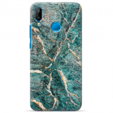 "Huawei P20 Lite silicone phone case with unique design 1.0 mm ""u-case Airskin Marble 1 design"""