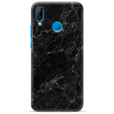 "Huawei P20 Lite silicone phone case with unique design 1.0 mm ""u-case Airskin Marble 4 design"""