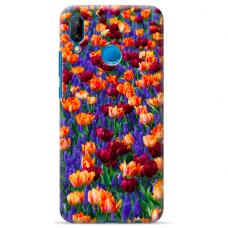 "Huawei P20 Lite silicone phone case with unique design 1.0 mm ""u-case Airskin Nature 2 design"""