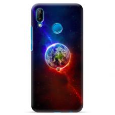"Huawei P20 Lite silicone phone case with unique design 1.0 mm ""u-case Airskin Nature 4 design"""