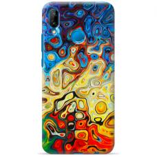 "Huawei P20 Lite silicone phone case with unique design 1.0 mm ""u-case Airskin Pattern 1 design"""