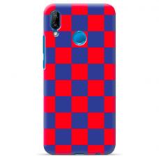 "Huawei P20 Lite silicone phone case with unique design 1.0 mm ""u-case Airskin Pattern 4 design"""