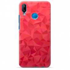 "Huawei P20 Lite silicone phone case with unique design 1.0 mm ""u-case Airskin Pattern 6 design"""