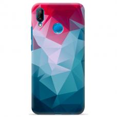 "Huawei P20 Lite silicone phone case with unique design 1.0 mm ""u-case Airskin Pattern 8 design"""