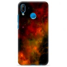 "Huawei P20 Lite silicone phone case with unique design 1.0 mm ""u-case Airskin Space 1 design"""