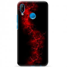 "Huawei P20 Lite silicone phone case with unique design 1.0 mm ""u-case Airskin Space 3 design"""