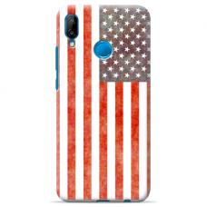 "Huawei P20 Lite silicone phone case with unique design 1.0 mm ""u-case Airskin USA design"""